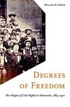 Degrees of freedom : the origins of civil rights in Minnesota, 1865-1912