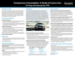 Conspicuous Consumption: A Study of Luxury Cars by Ha Dong